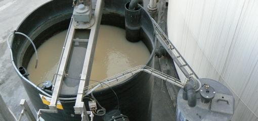 stirring flocculator